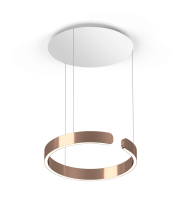 Occhio Mito Sospeso 40 Up Variable Air-Steuerung rose gold