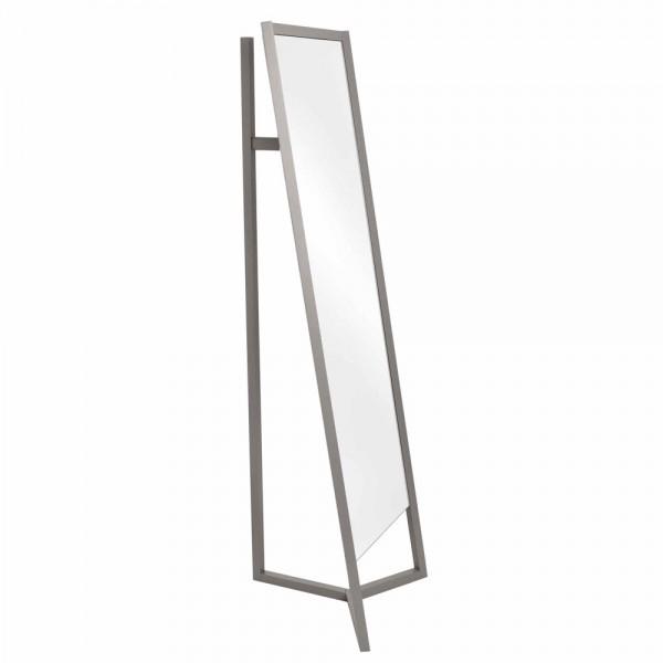 Schönbuch CLUB Garderobenständer mit Spiegel grau lackiert