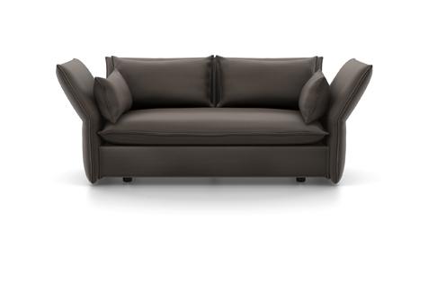 Vitra Mariposa Sofa Zweisitzer Stoff Iroko 2 muskat