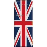 SMEG Retro-Style Standkühlschrank 50er Jahre britische Flagge FAB28LDUJ3 / FAB28RDUJ3