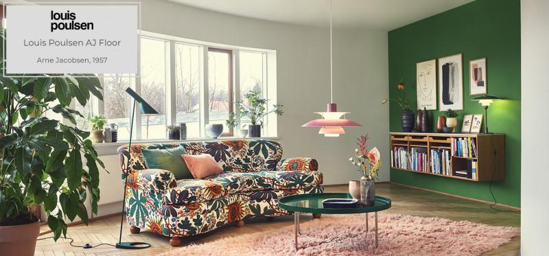Louis Poulsen AJ Floor Stehleuchte design by Arne Jacobsen