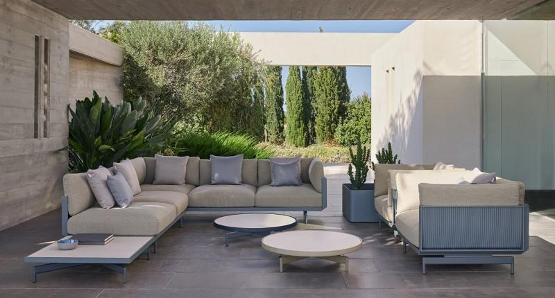 Gandia Blasco Onde Loungemöbel Gartenmöbel luxuriös