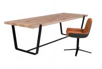 JANUA Möbel Tisch BB 11 Clamp Eiche natur geölt UG: tiefschwarz