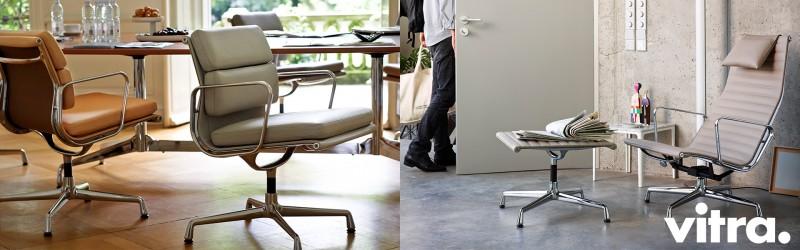 Vitra Soft Pad Chair und Aluminium Chair Upgrade Kampagne