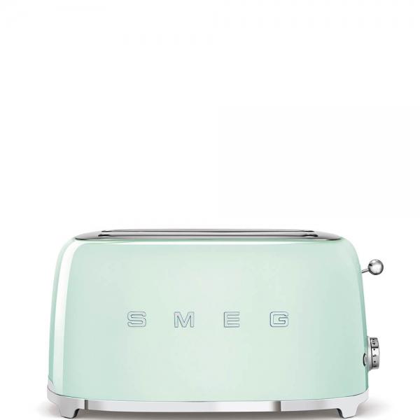 SMEG Retro-Style 2-Scheiben-Toaster, lang TSF02PGEU pastellgruen