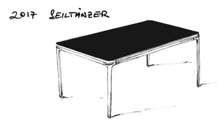2017 Seiltänzer von Nils Holger Moormann