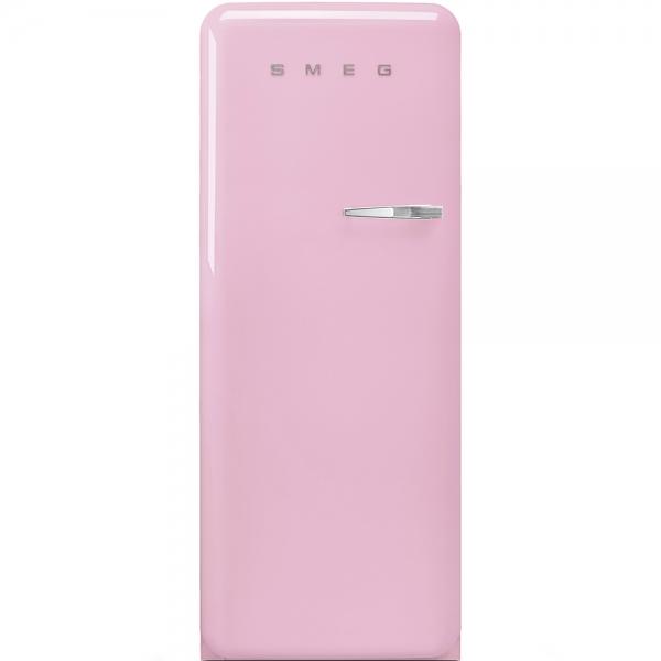 SMEG Retro-Style Standkühlschrank 50er Jahre cadillac pink FAB28LPK3 / FAB28RPK3