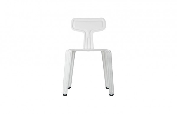 Nils Holger Moormann Stuhl Pressed Chair weiss