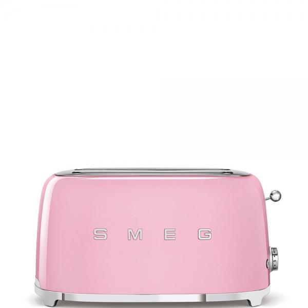 SMEG Retro-Style 2-Scheiben-Toaster, lang TSF02PKEU cadilac pink
