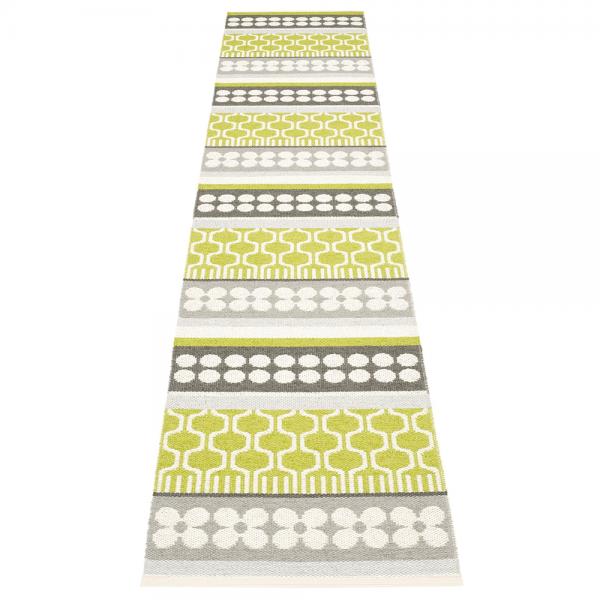 Pappelina Asta Lime 70x360 Teppich & Badvorleger lime