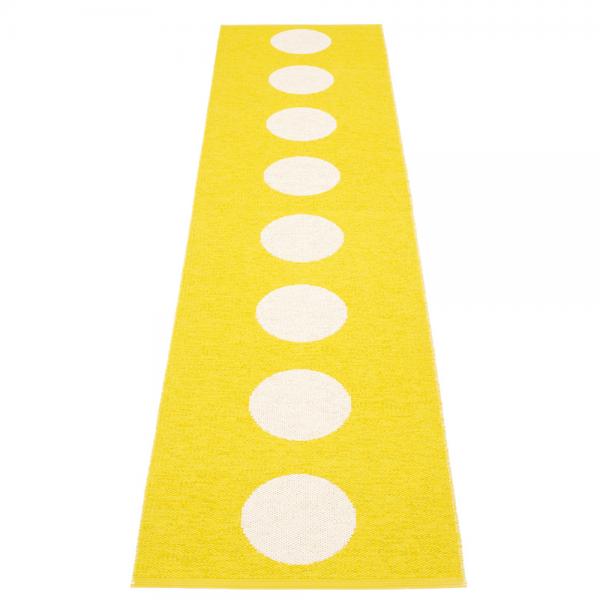 Pappelina Vera Lemon 70x300 Teppich & Badvorleger gelb