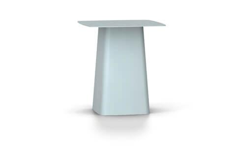 Vitra Metal Side Table Beistelltisch medium eisgrau (outdoorfähig)
