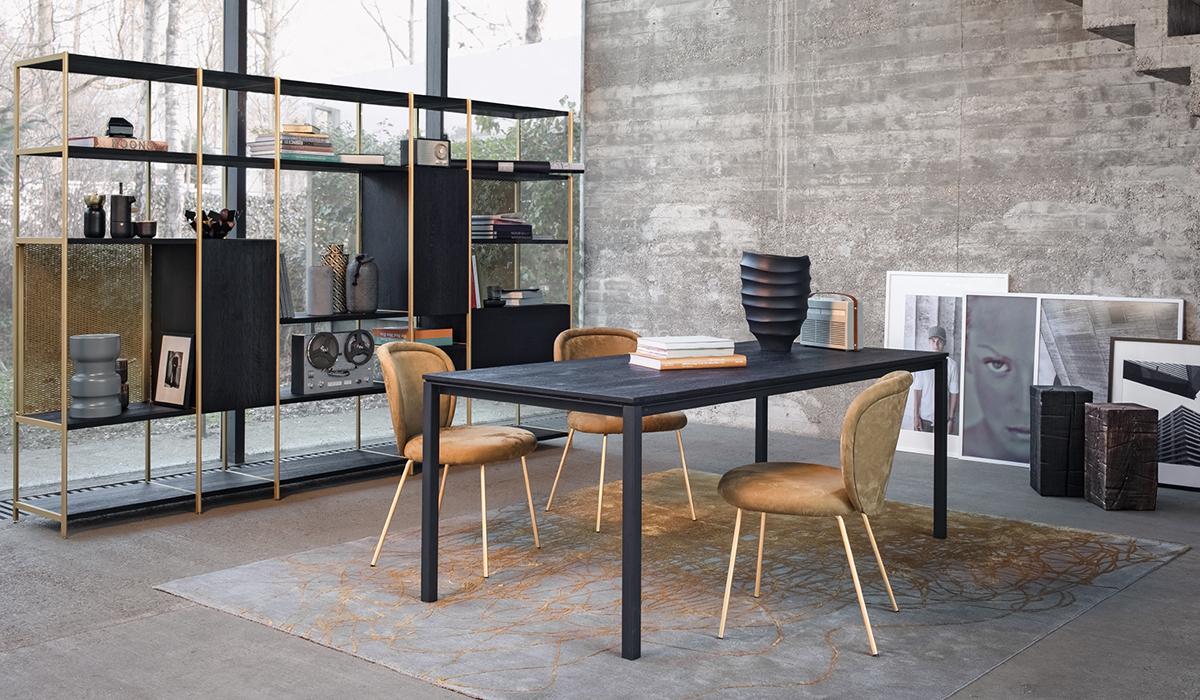 Janua S600 Esstisch und Freifrau Ona Side Chair