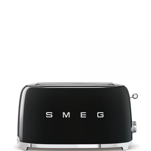 SMEG Retro-Style 2-Scheiben-Toaster, lang TSF02BLEU schwarz