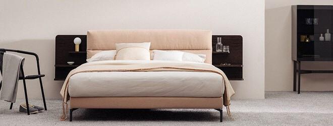 Schlafzimmer - Schramm Origins Bett Kollektion home of sleep