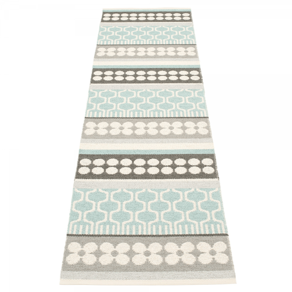 Pappelina Asta Pale Turquoise 70x270 Teppich & Badvorleger t