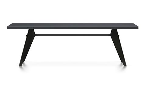 Vitra Prouve EM Table Esstisch HPL 240 cm asphalt/tiefschwarz