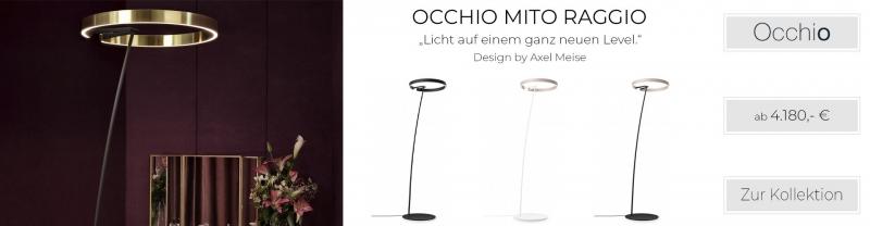 Occhio Mito Raggio Stehleuchte Axel Meise Licht