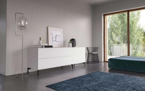 Piure NEX PUR BOX Sideboard 180 x 63 x 48 cm weiss