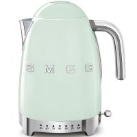 SMEG Retro-Style Wasserkocher variabler Temeratursteuerung 50er Jahre pastellgruen KLF04PGEU