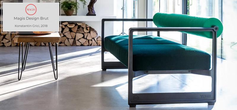 Magis Design Brut Sofa / Bank von Konstantin Gricic