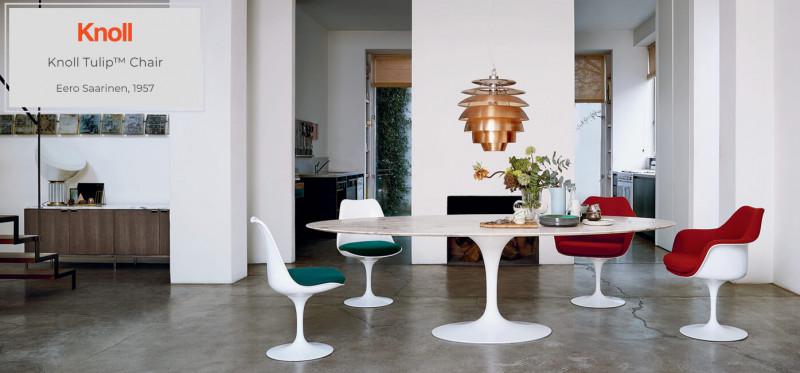 Knoll Tulip Chair Eero Saarinen