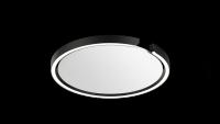Occhio Mito Soffitto 40 Narrow Air-Steuerung Up Deckenleuchte schwarz matt