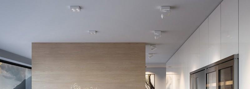 Q Four Familie Deckenleuchten dreh und schwenkbar Nimbus Lighting