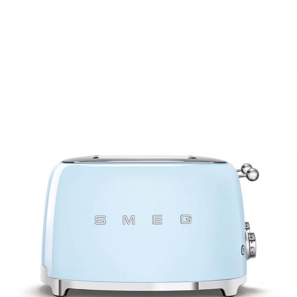 SMEG Retro-Style 4-Scheiben-Toaster TSF03PBEU pastellblau