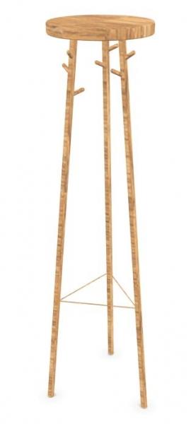 Cascando Twist Up Bambus Garderobenst?nder hellbraun