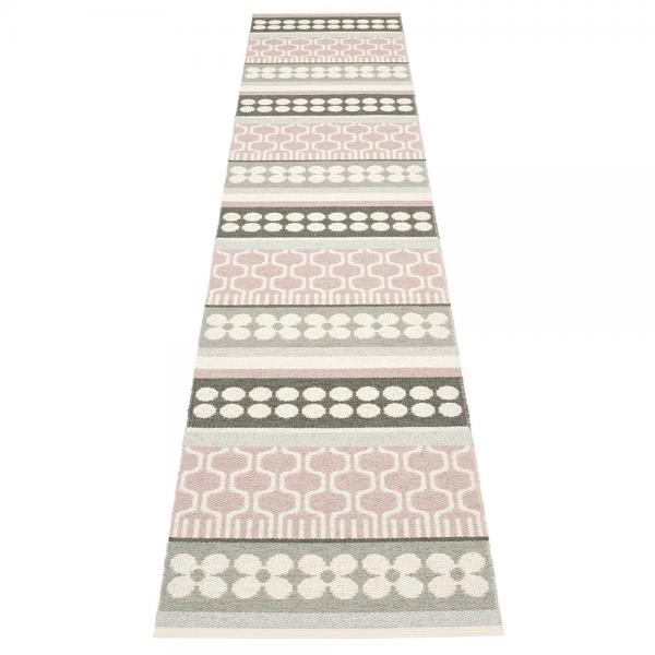 Pappelina Asta Pale Rose 70x360 Teppich & Badvorleger rosa