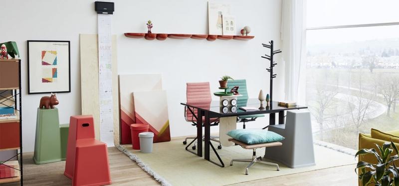 Vitra Aluminium Chair EA 117 / 118 / 119 design Chalres & Ray Eames 1958