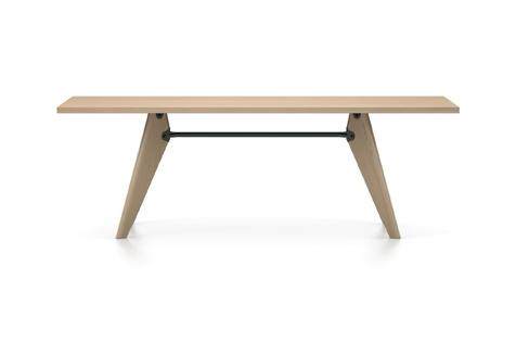 Vitra Table Solvay Esstisch Eiche natur massiv geoelt 220 cm natur