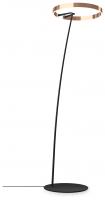 Occhio Mito Raggio 60 Wide Air-Steuerung Stehleuchte rose gold