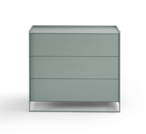 Möller Design LEAN BOX K903S Kommode mit 3 Schubkästen Lack matt
