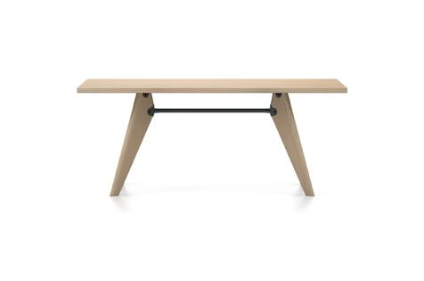 Vitra Table Solvay Esstisch Eiche natur massiv geoelt 180 cm natur