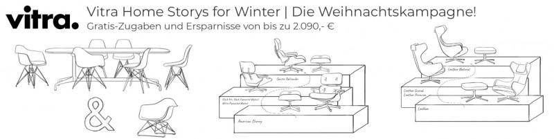 Vitra Home Storys for Winter | Die Weihnachtskampagne! Gratis-Zugaben und Ersparnisse von bis zu 2.090,- €