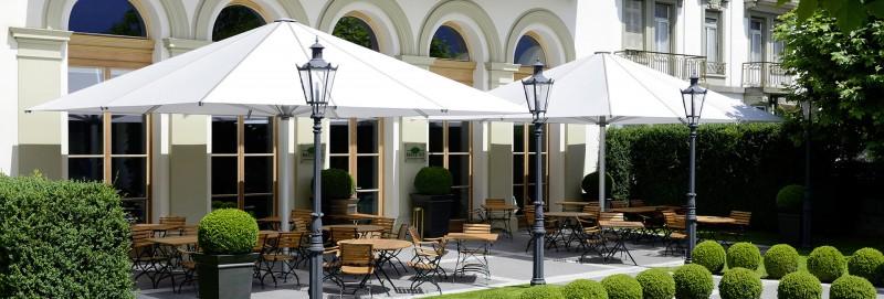 Glatz Palazzo Royal Sonnschirm fuer Gastronomie oder Luxushotels
