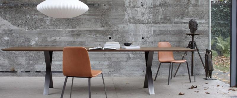 More Lax Esstisch und More Pec Stuhl