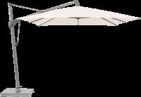 Glatz AG Sonnenschirm SOMBRANO® S+ rechteckig, 120 kg Sockel M4 mit Abdeckung, ohne Betoneinsatz