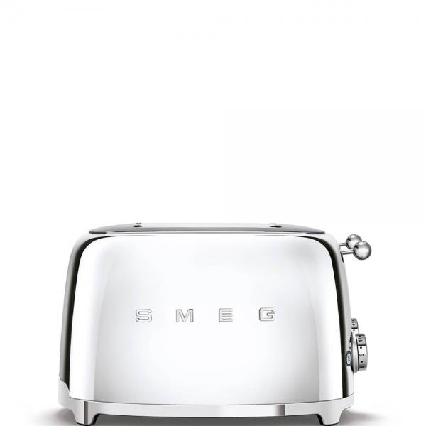 SMEG Retro-Style 4-Scheiben-Toaster TSF03SSEU chrom