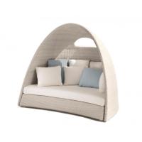 Roberti® Igloo Outdoor-Loungemöbel / Gartensofa mit Sitz- & Rückenkissen