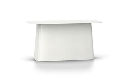 Vitra Metal Side Table Beistelltisch gross weiss