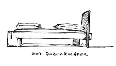 2007 Siebenschläfer Bett von Nils Holger Moormann