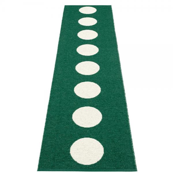 Pappelina Vera Dark Green 70x300cm Teppich & Badvorleger dunkelgr