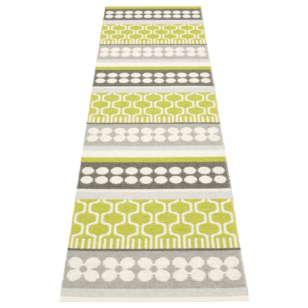 Pappelina Asta Lime 70x270 Teppich & Badvorleger lime