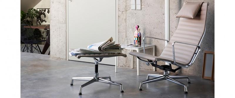 Vitra Aluminium Chair EA124