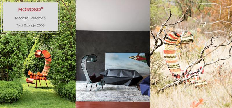 Moroso Shadowy Sessel im Outdoorbereich
