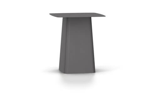 Vitra Metal Side Table Beistelltisch medium dimgrey (outdoorfähig)