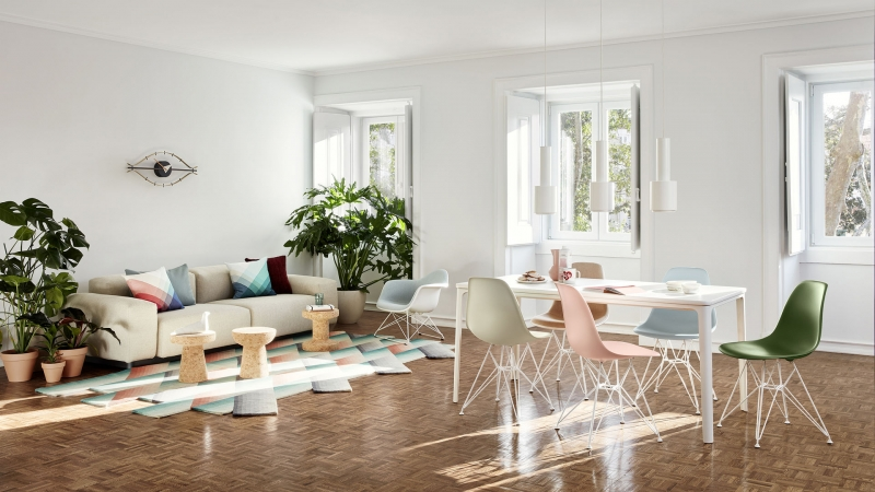 Vitra Home Collection Spring Summer 2020 mit dem Soft Modular Sofa von Jasper Morrisson